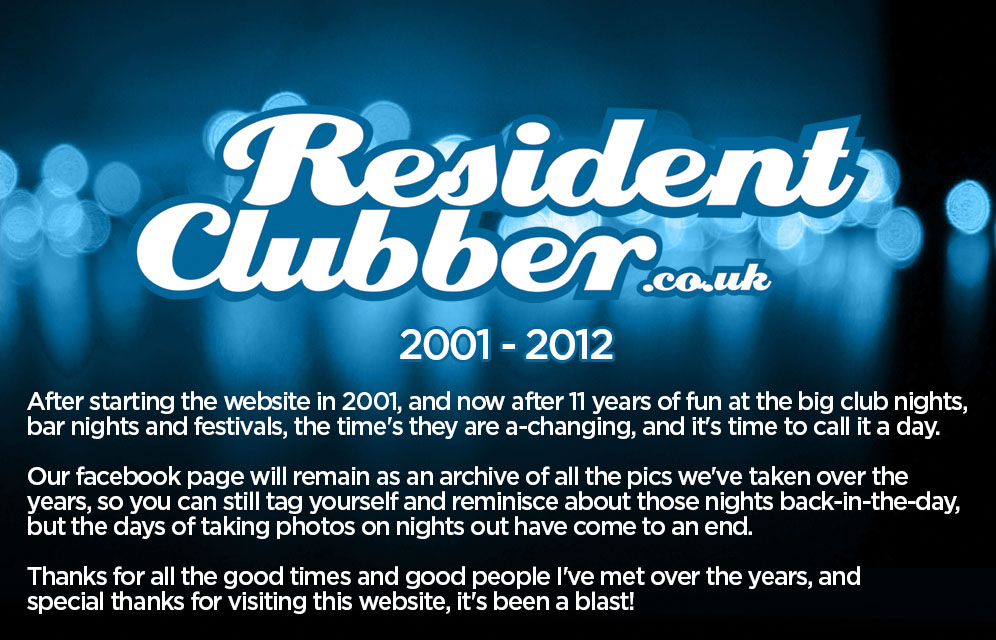 Residentclubber.co.uk will be back soon